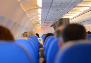 Air planes are germ havens