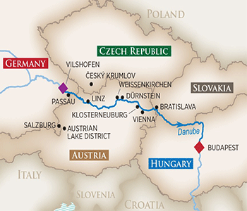 Romantic-Danube-Map