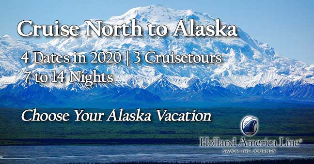 Alaska Sailings with Special Pricing