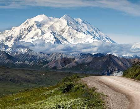 Alaska Cruise Tour - Mt McKinley