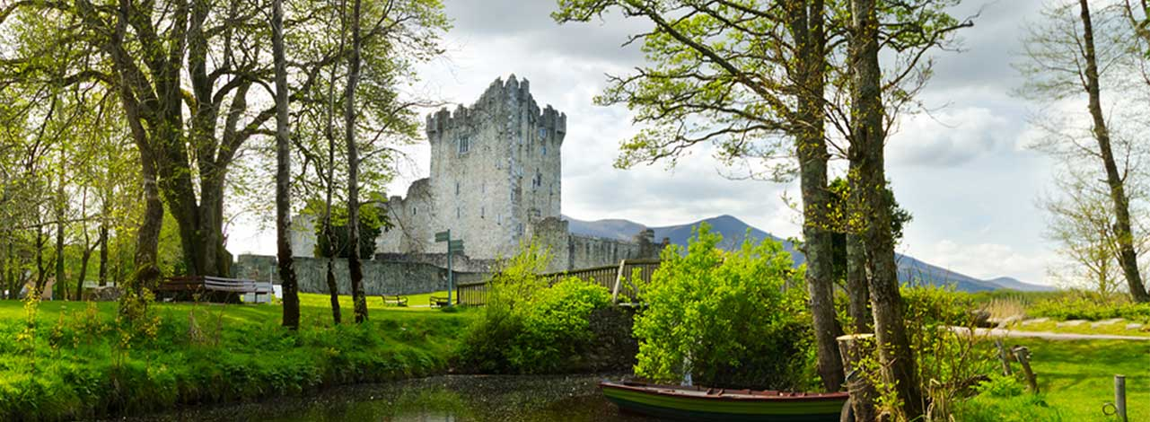 Ireland Escorted Tour - Castle Header