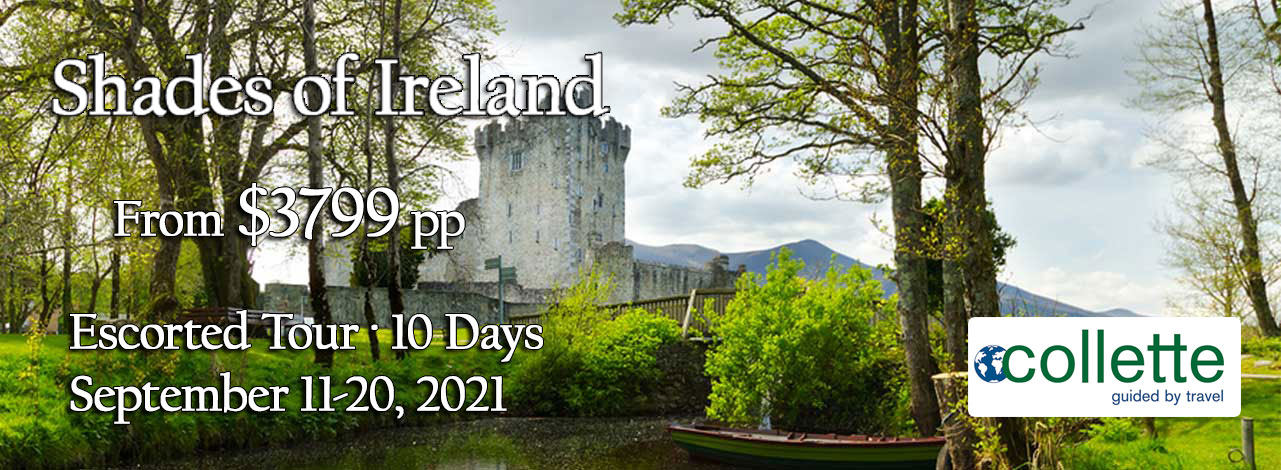 Ireland Escorted Tour - Castle Header