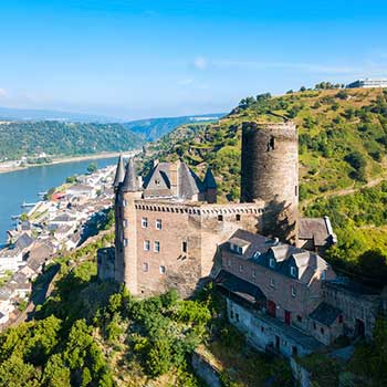 Escorted Rhine & Moselle Katz Castle